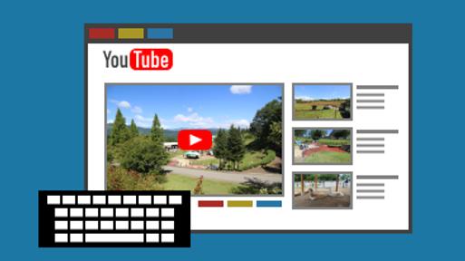 動画チャンネル設定サポート Support of setting channel for uploading video
