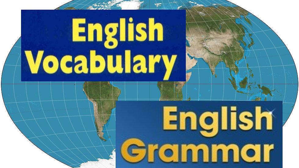 英単語・文法強化サポート English Vocabulary & Grammar Reinforcement Course