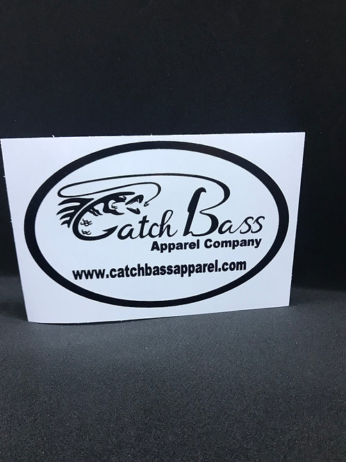 Catch Bass Apparel Company Decal