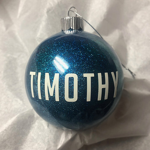 Customizable Christmas Ornaments