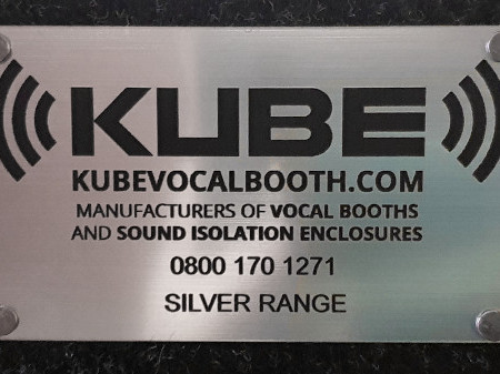 Kube vocal booth review - diamond model (silver)