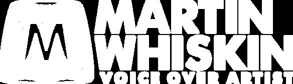Logo for Martin Whiskin Voiceover Artist