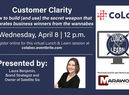 Lunch & Learn: Customer Clarity
