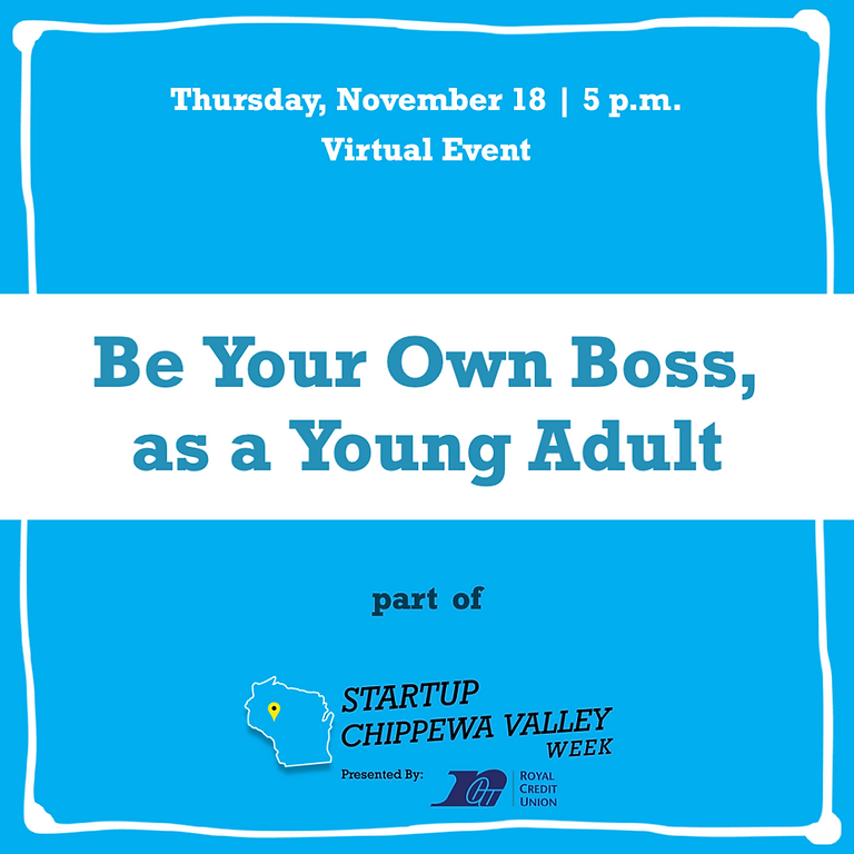 Be Your Own Boss, as a Young Adult!