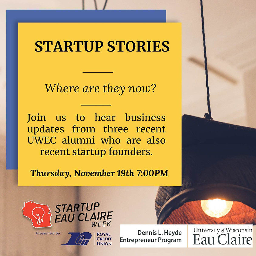 Startup Stories from Three UWEC Alumni