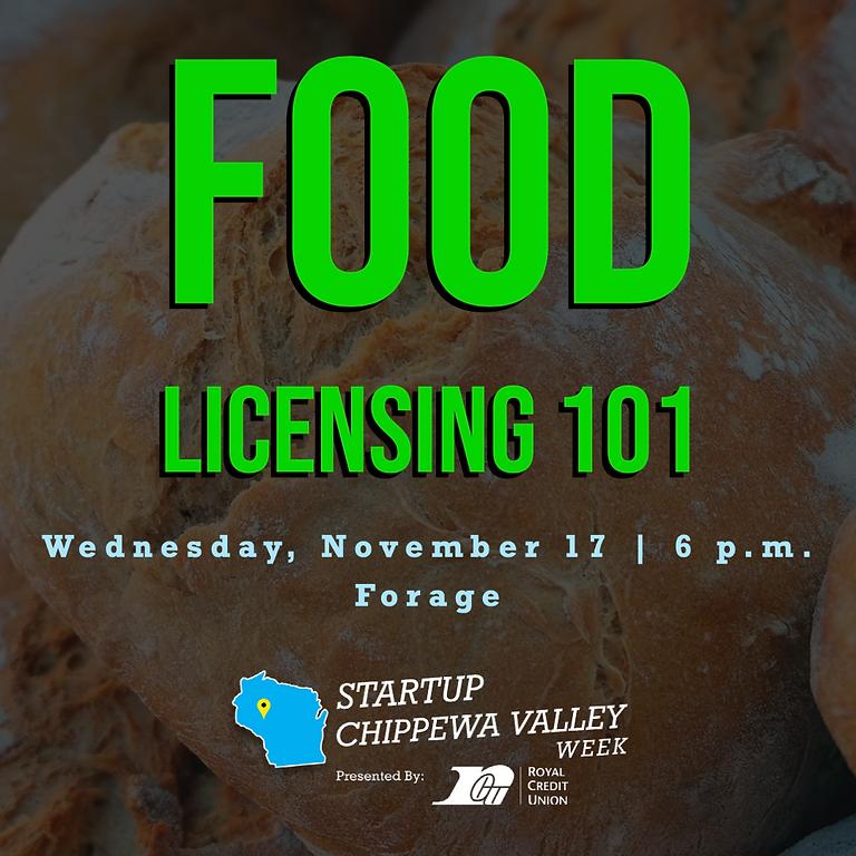 Food Licensing 101