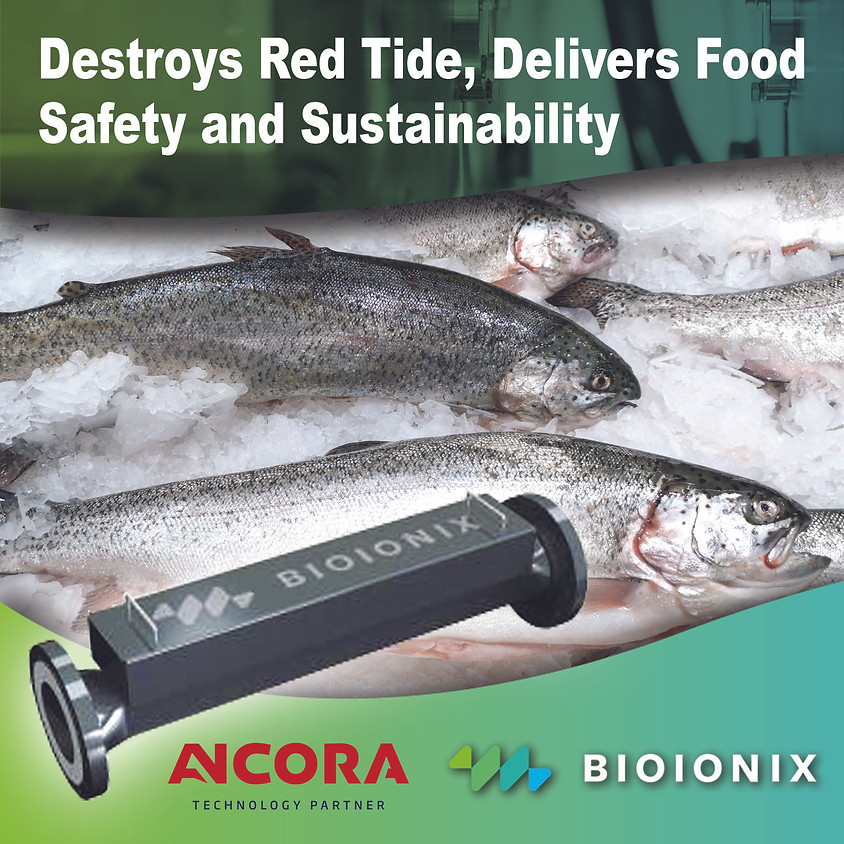 Bioionix Seawater Applications Mitigating Red Tide and Listeria