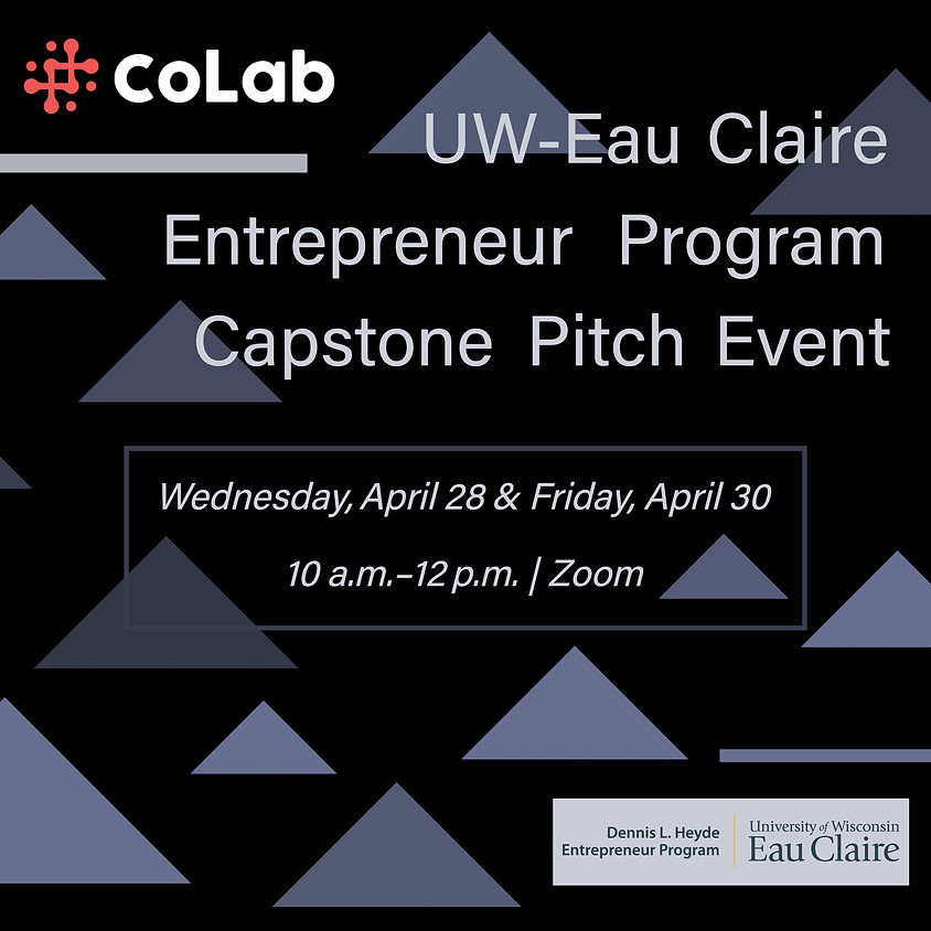 UWEC Entrepreneur Program Capstone Pitch Event