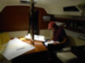 Теоретическое обучение в яхтенной школе