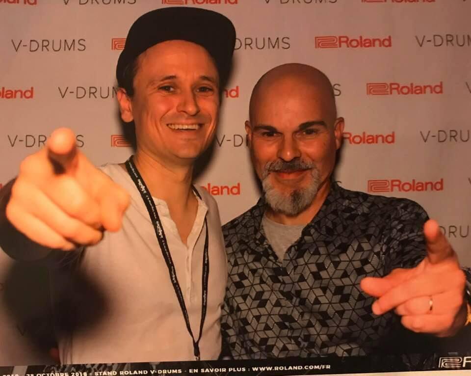 Me and Damien Schmitt