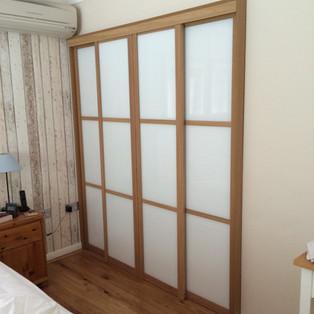 Walk-In Dressing Room with Sliding Doors