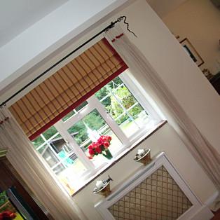 Curtains & Roman Blinds