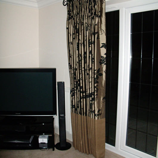Designer Fabric Curtains