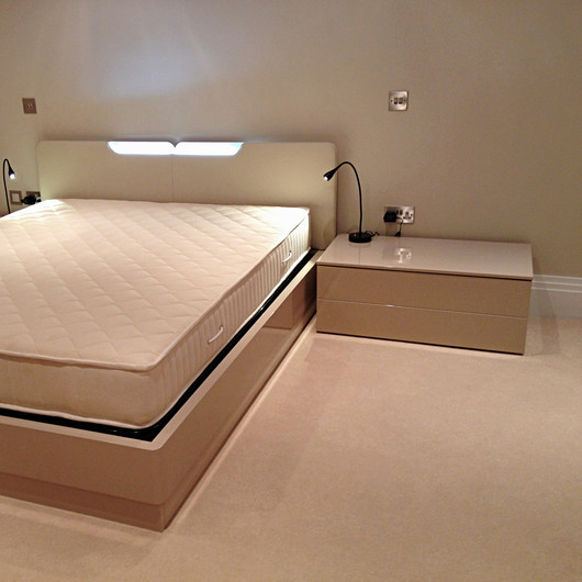 Bedroom with Bespoke Furntiture