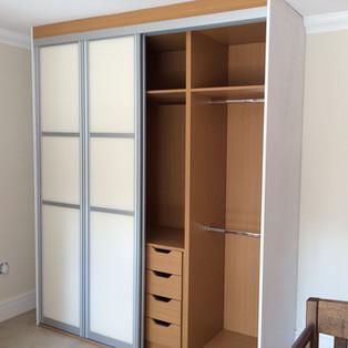 Sliding Door Wardrobe with Bespoke Interior