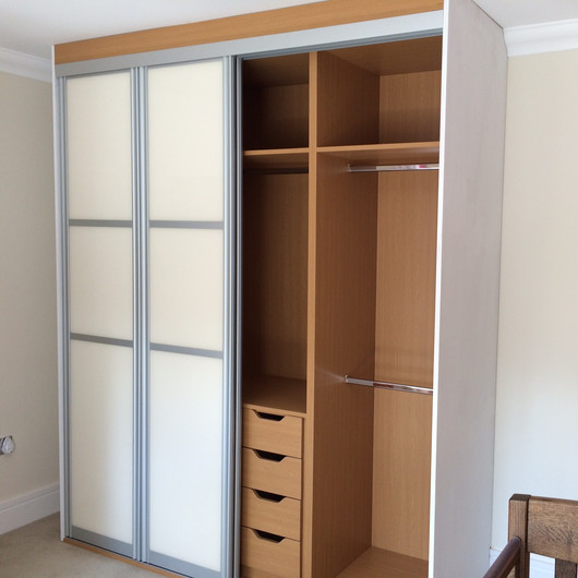 Sliding Door Wardrobe with Bespoke Interior