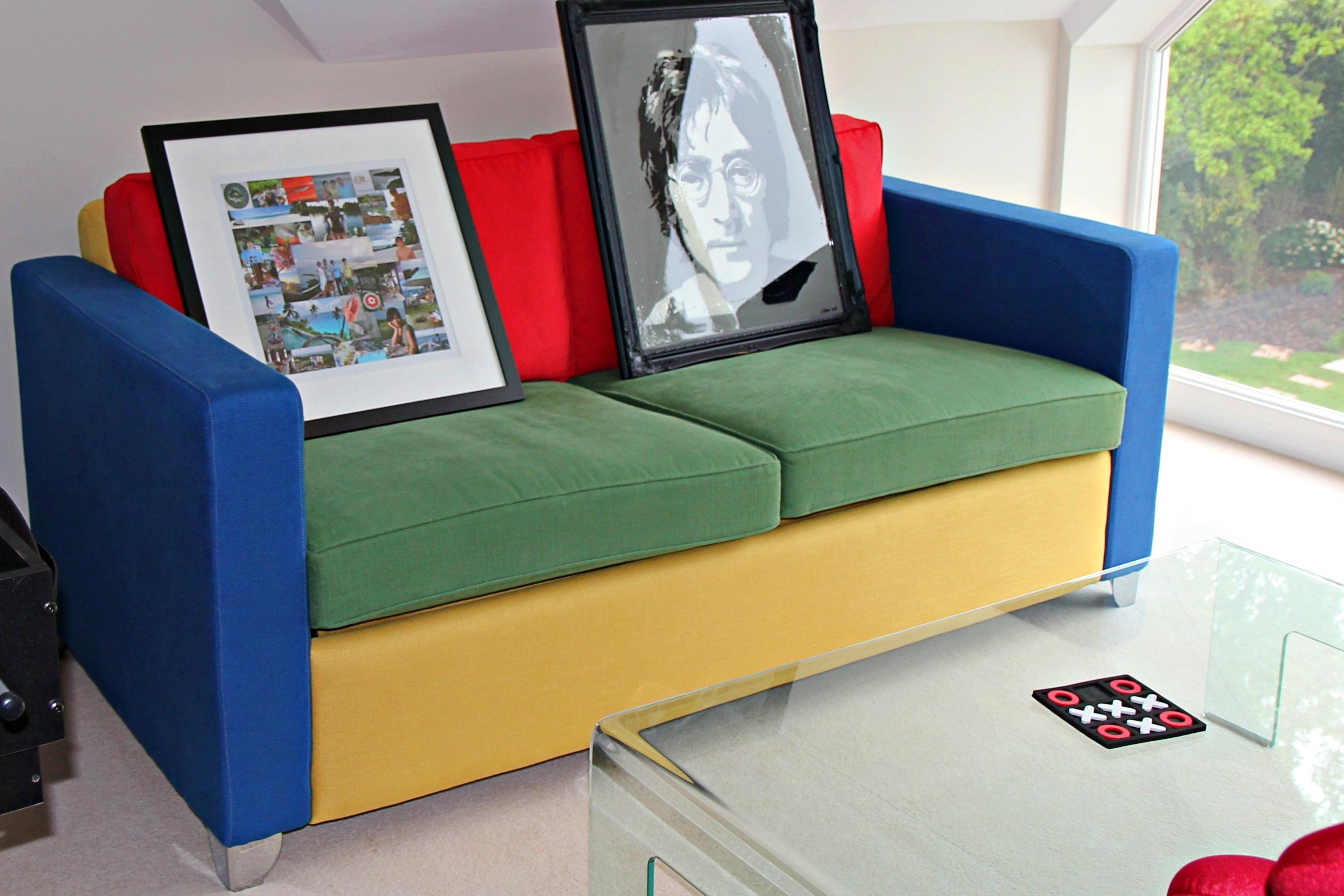 Bespoke Sofa for Games Room