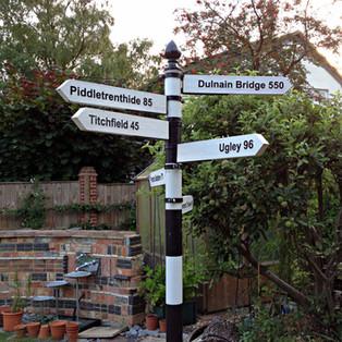 Bespoke Sign Pole
