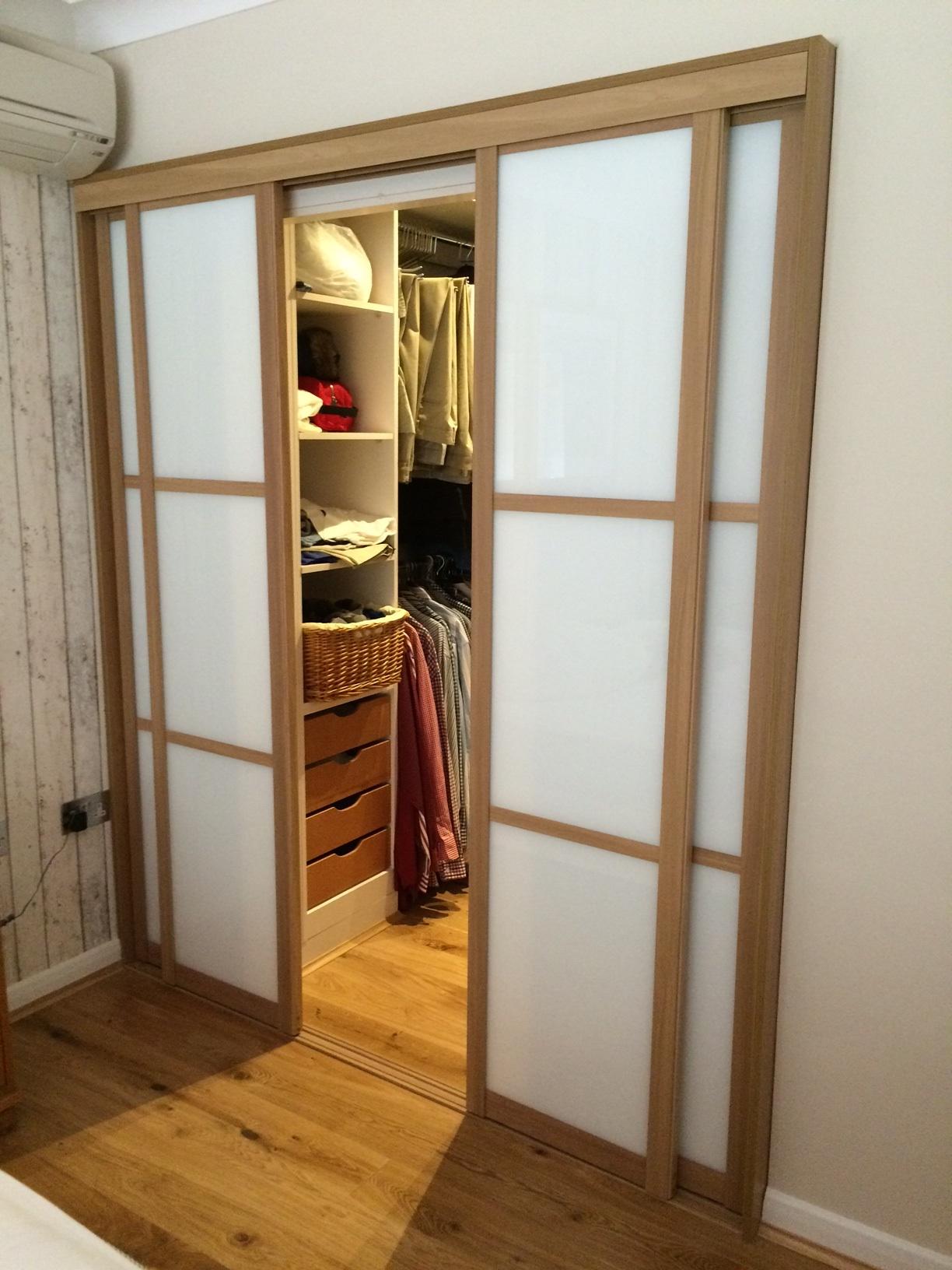 Sliding Wardrobe Doors for Walk-In