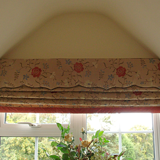 Roman Blinds & Pelmets