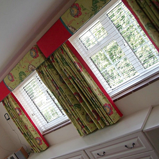 Designer Fabric Blinds & Fabric