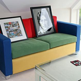 Bespoke Sofa Upholstery for Games Room