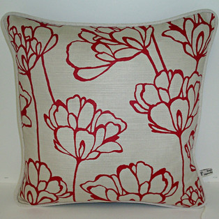 Cushion with Designer Fabric