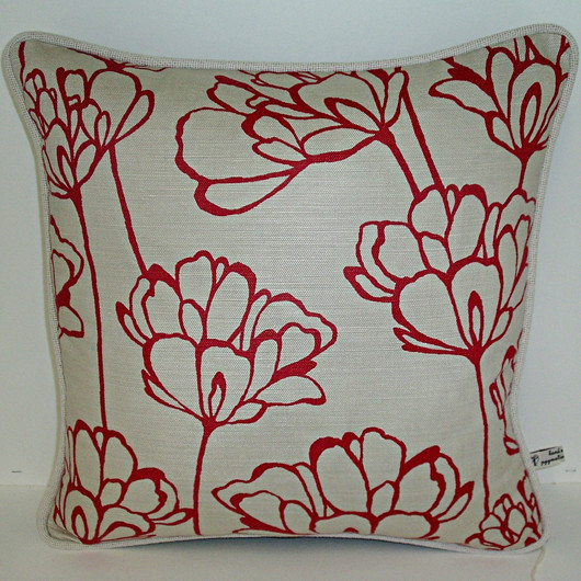 Cushion with Designer Fabric