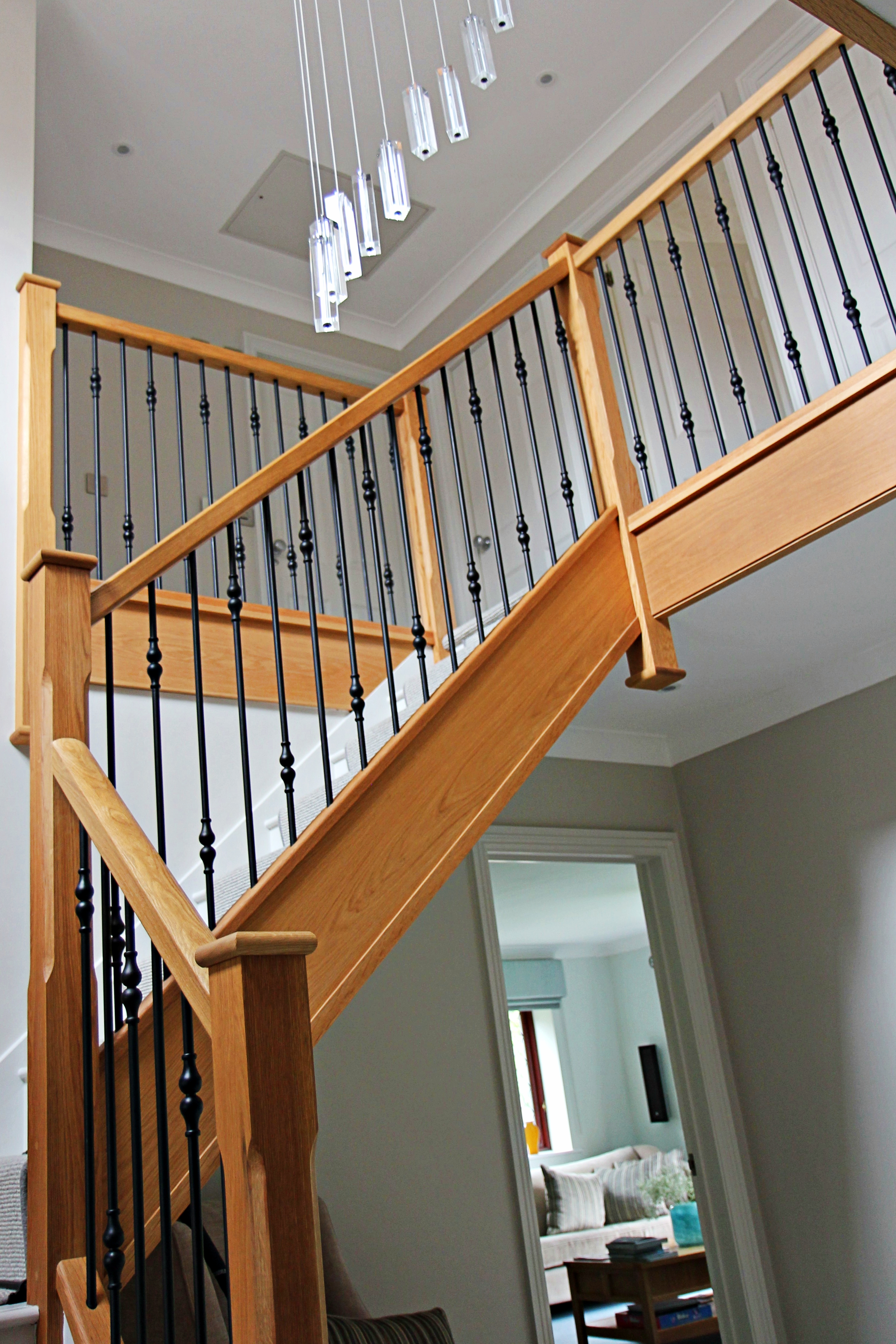 Bespoke Staircase for Hallway