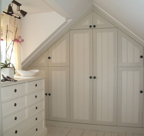Bespoke Loft-Conversion Wardrobe with Matching Units