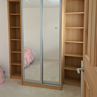 BEspoke Wardrobe with Sliding Mirror Doors
