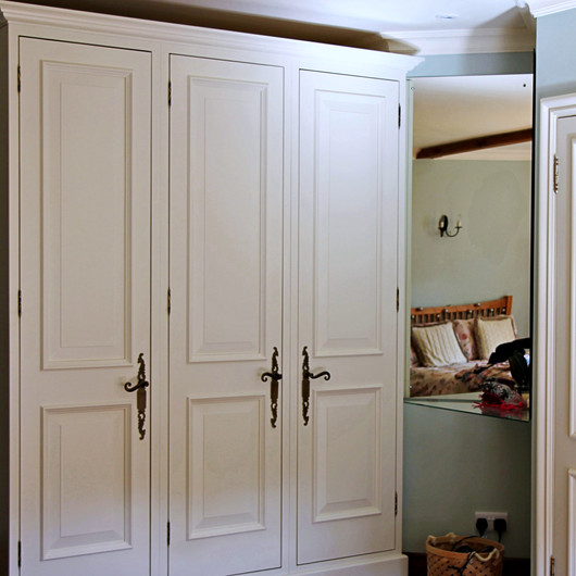 Bespoke Wardrobe to Match Existing Doors