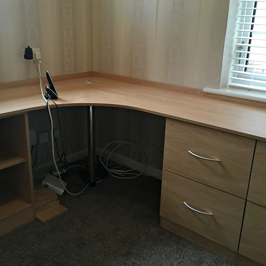 Bespoke, Fully-Fitted Desk