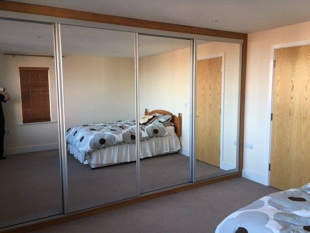 Bespoke Wardrobe with Sliding Doors