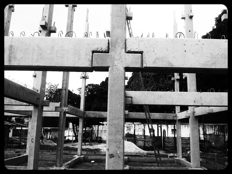 Projeto de estrutura pré-moldada
