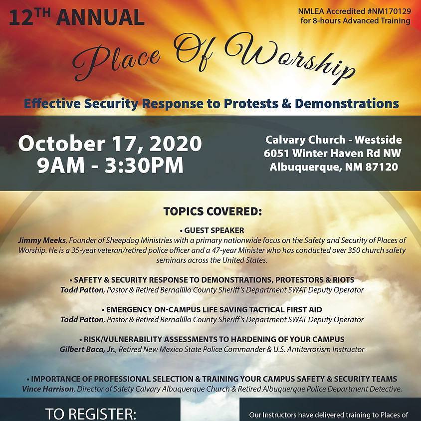 Places of Worship Conference