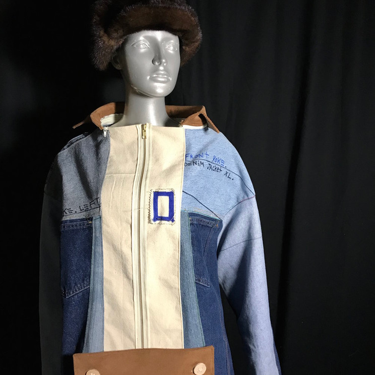 Denim-cycled Jacket