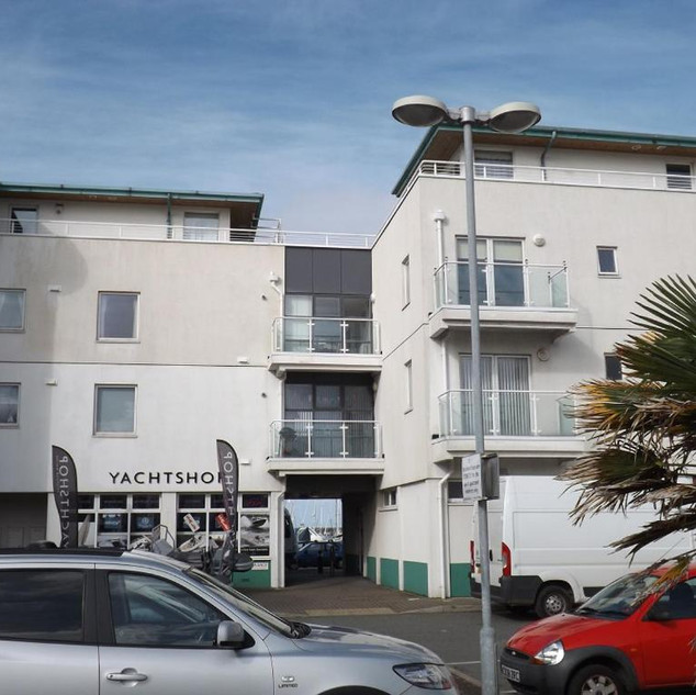 Apartment from car park