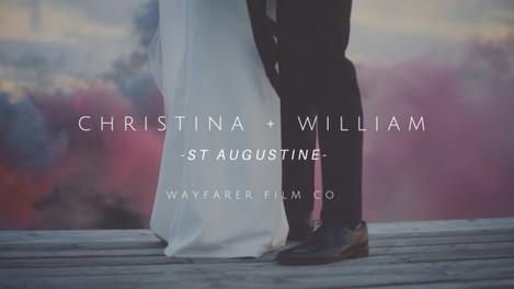 Christina + Bill's Wedding - St. Augustine, FL