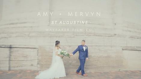 Amy + Mervyn's Wedding - St Augustine, FL