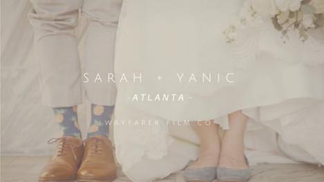 Sarah + Yanic's Wedding - Atlanta, GA