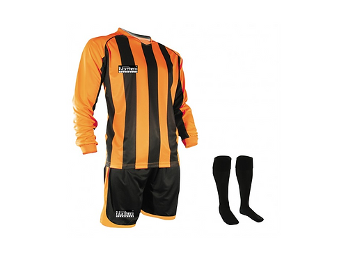 Teamwear Striped kit Orange/Black