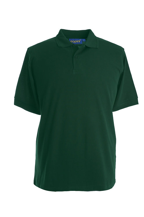 Bottle Green Polo Shirt From