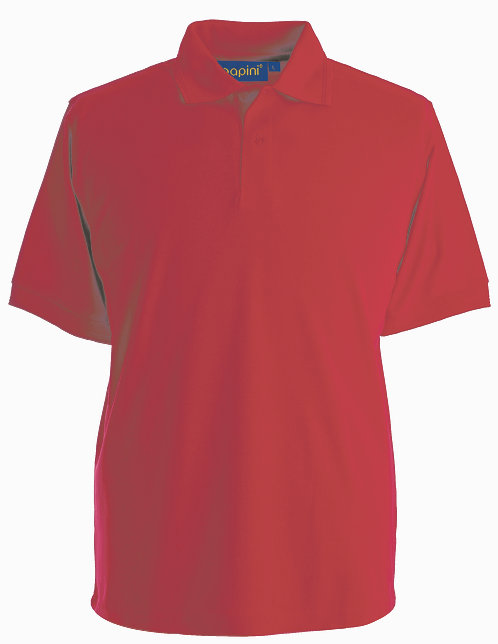 Red Polo Shirt From