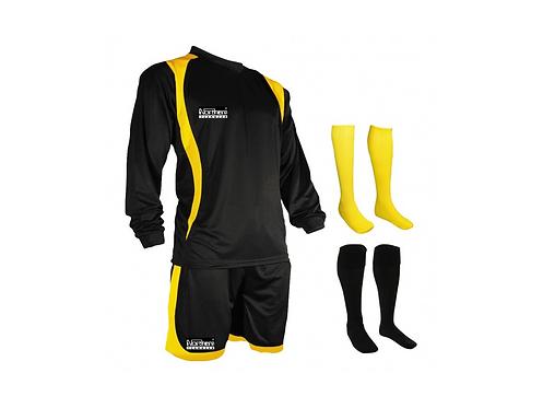 Teamwear League Kit Black/Yellow