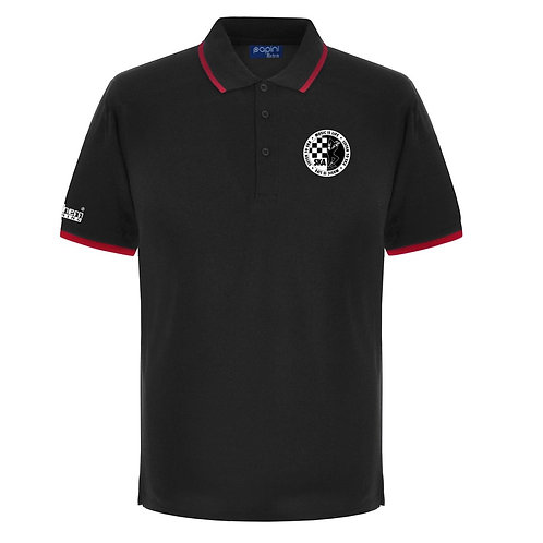 Ska Polo Shirt Black/Red