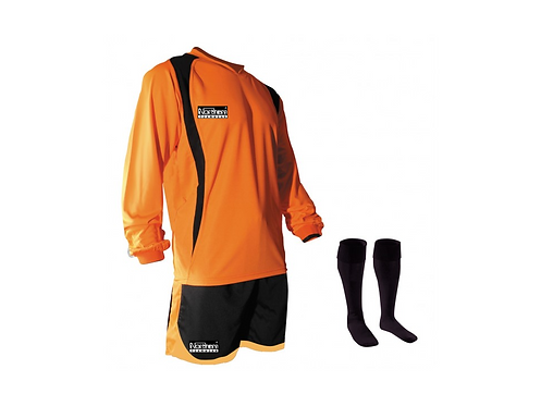 Teamwear League Kit Orange/Black