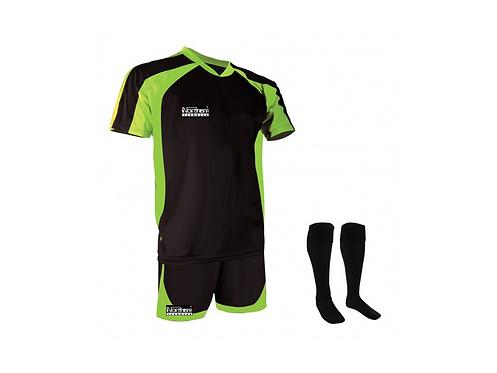 Teamwear Training Kit Black/Green