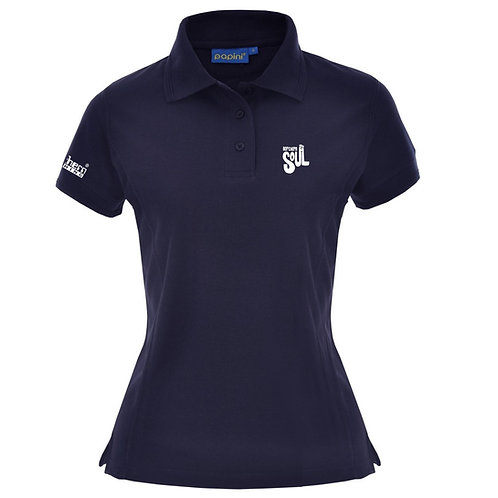 Ladies Navy Soul Polo