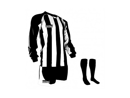 Teamwear Striped kit Black/White